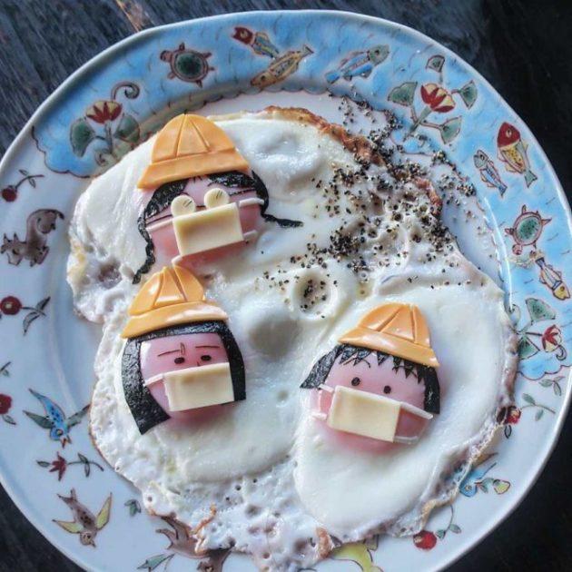 Мастер-класс по приготовлению яичницы от мамы из Японии: я тоже так хочу!