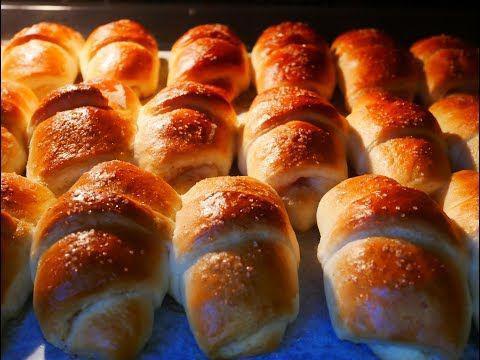 С ума можно сойти от запаха пока выпекаются эти булочки!