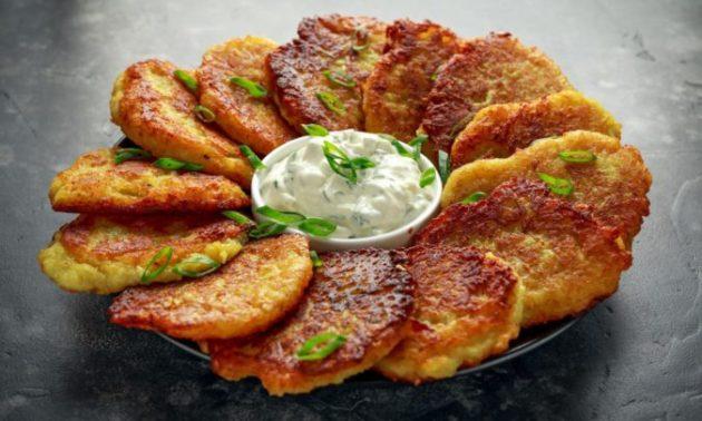 Готовлю самые вкусные драники без натирания картошки на тёрке - это ведь намного проще!