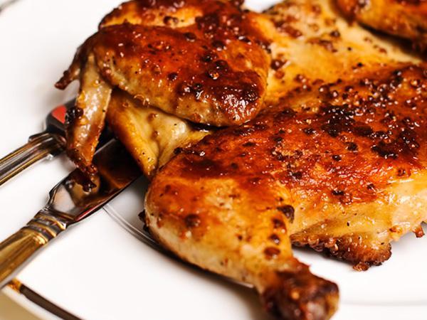 Цыпленок табака(тапака) - домашний грузинский рецепт легендарного блюда