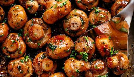 Обалденная немецкая грибная закуска - пряные шампиньоны в чесночном соусе
